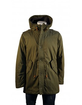 PARKA GREEN WOOD ΛΑΔΙ