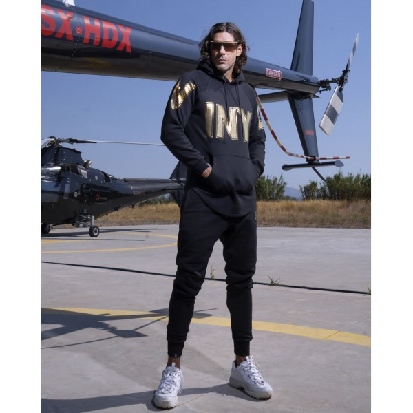 HOODIE WITH BIG CHEST LOGO 0220-02-27